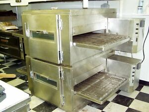 Lincoln 1000 Impinger Conveyor Oven Double Stack Reconditioned Digital