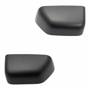 Exterior Door Tow Mirror Cap Cover Pair Textured Lh Rh Sides For Ford Super Duty