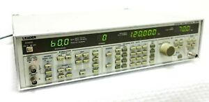 Leader 3216 100 Khz To 140 Mhz Am fm Synthesized Signal Generator