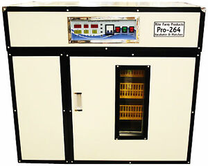 Rite Farm Products Pro 264 Cabinet Incubator Hatcher 264 Chicken Egg Capacity