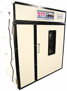 Rite Farm Products Pro 440 Cabinet Incubator Hatcher 440 Chicken Egg Capacity