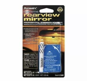 Permatex 81840 Professional Strength Extreme Rearview Mirror Adhesive Glue