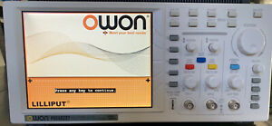 Owon Portable Digital Oscilloscope 25mhz Pds5022t 7 8in Tft Color Lcd Open Box