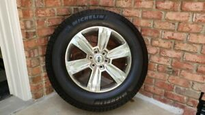 2013 2019 Ford F150 Set Of 4 Used Oem 20 Wheels With Mounted Michelin Tires