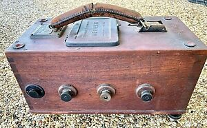 Antique Evershed Megger Insulation Tester C 1919 Untested As is