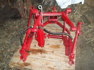 Farmall Mta 400 450 560 Tractor 2 point Fast Hitch With Cylinder All Bolts