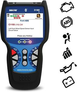 Innova 3160g Scanner Diagnostic Scan Tool Code Reader Obd2 Abs Srs Bluetooth New
