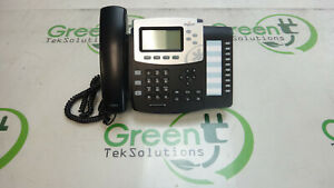 Digium Switchvox D50 Voip Poe Phone W Stand Handset Cord No Adapter Grade A