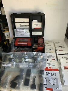 Snap On Scanner Mtg2500 cartridges adapters keys cables manuals hard Case
