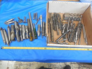 Large Lot Of Machinist Tooling For Bridgeport Mill And Southbend Lathe Goodies