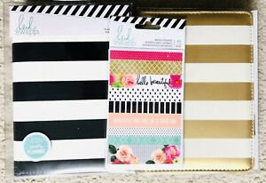 Lot Of 2 Brand New Heidi Swapp Personal Size Planners With Washi Stickers