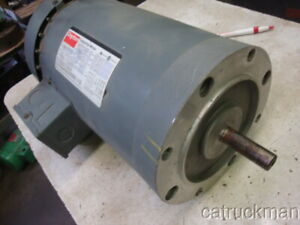 56c Frame Dayton 3 Hp 3450 Rpm 3 Phase Electric Motor In Xlnt Condition