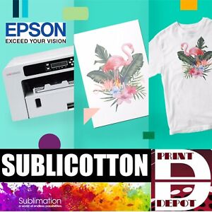 Sublicotton Transfer Paper 100 Sh Pk 8 5 x11 Sublimation Paper For Cotton 1