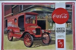 AMT Coca-Cola 1923 Ford Model T Delivery Model Kit 1/25 Scale