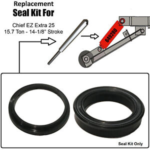 Replacement Chief Ez 25 Extra Frame Machine Lift Ram Seal Kit