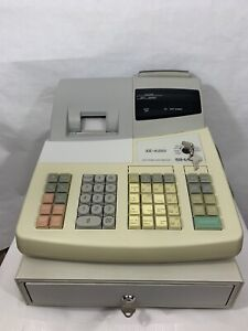 Sharp Xe a202 High speed Electronic Cash Register With Key