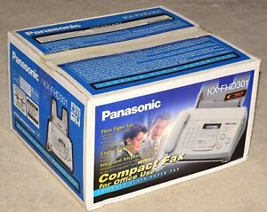 Panasonic Kx fhd301 Compact Plain Paper Fax Copier And Telephone System New