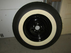 1957 1958 Ford 14 White Wall Tire And Rim Spare Tire