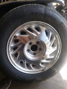 Lincoln Continental Wheels 1996 1999 Balanced Wheels With Tires Full Set Rims