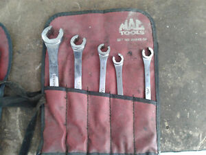 Mac 5 Pc Sae Double End Flare Nut Wrench Set