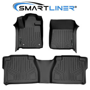 Smartliner Custom Fit Floor Mat Set For 2012 2013 Toyota Tundra Double Cab