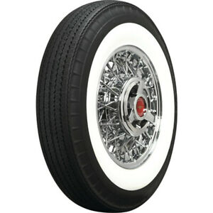 Coker Tire 560r15 American Classic Bias Look Radial 2 In Whitewall Tire
