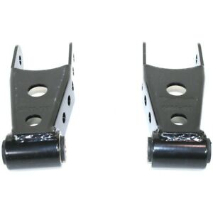 6400 Belltech Leaf Spring Shackles 2 spring Set Rear New For Chevy Suburban