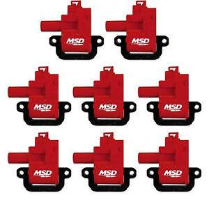 Msd 82628 Blaster Coil For 98 06 Gm Ls1 ls6 Engines 8 pack