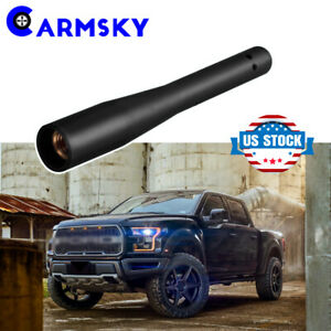 3 2 Rubber Signal Antenna For 2009 2019 Ford F150 f350 Dodge Ram 1500 2500 3500