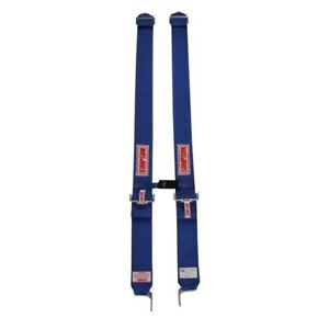 Simpson Shoulder Harness With Sternum Protector Latch Link Blue