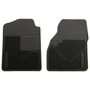 51031 Husky Liners Floor Mats Front New Black For Chevy Suburban Avalanche Yukon