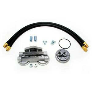 1213 Transdapt Oil Filter Relocation Kit New For Truck F150 F250 F350 Falcon