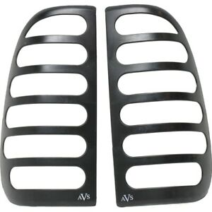 36740 Ventshade Set Of 2 Tail Light Covers Lamps New Black For F150 Truck Pair
