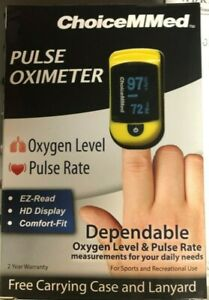 New Choicemmed Oxywatch C20 Pulse Oximeter