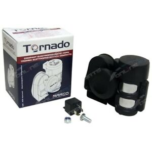 Super Loud Marco Tornado Compact Air Horn For 12v Vehicles Motorcycles Or Cars