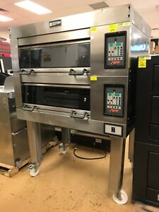 Doyon Double Deck Bake Oven No Steam Generator No Steam Available