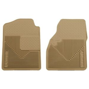 51033 Husky Liners Floor Mats Front New Tan For Chevy Avalanche Suburban Yukon