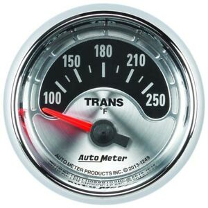 Autometer 1249 American Muscle Air core Trans Temperature Gauge