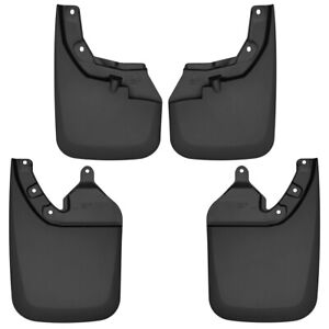 56946 Husky Liners Mud Flaps Set Of 4 Front Rear Driver Passenger Side New