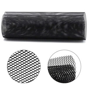 40 X13 Car Grill Mesh 10 20mm Aluminum Alloy Grille Mesh Sheet Rhombic Black