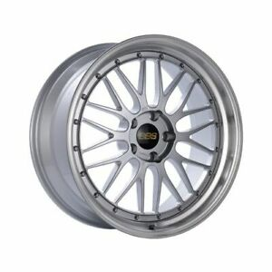 Bbs Lm086dspk Lm Wheel 18x10 5x114 3 20mm Diamond Silver Diamond Cut Rim New