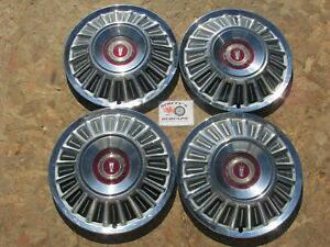 1967 72 Ford Galaxie 500 Ltd Pickup Truck 15 Wheel Covers Hubcaps Set Of 4