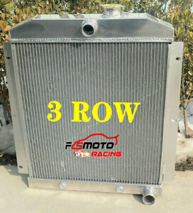 Aluminum Radiator For 1947 1954 Chevy 3100 3600 3800 Truck Pickup L6 At mt