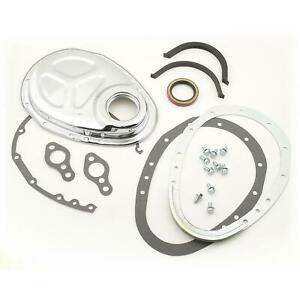 Mr Gasket 1099 Timing Cover Quick Change 2 piece Sbc