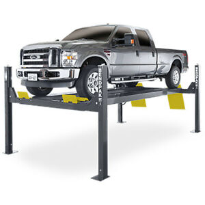 Bendpak 5175173 Four Post Vehicle Lift 14 000 Lbs Extended