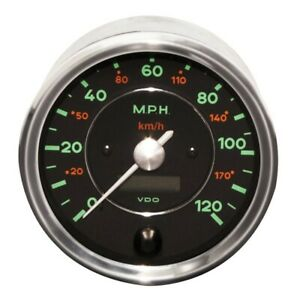Genuine Vdo Gauge 3 Pc Set 356 Speedster Spyder Porsche 356 Gauges