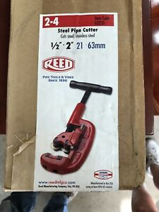 Reed Steel Pipe Cutter 1 2 2 Manufactured In Usa