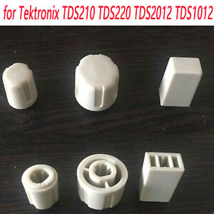 New For Tektronix Tds210 Tds220 Tds201 Oscilloscope Power Switch Cover Knobs