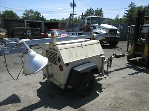 2004 Ingersoll Rand Light Tower With Kuboda Diesel Engine