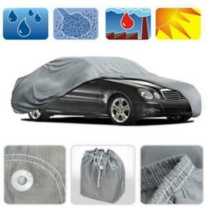 Peva Full Car Cover Sun Uv Dust Rain Resistant Protection Uv Snow Proof Cover